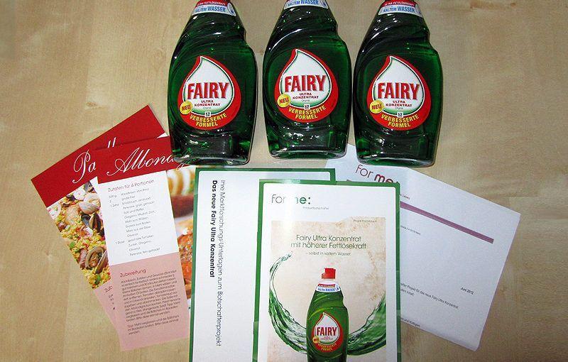 Fairy Ultra Konzentrat – Produkttest