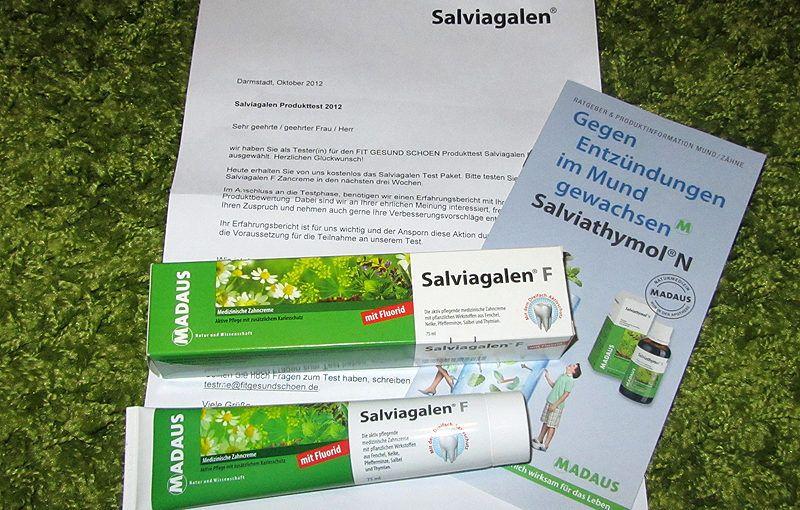 Salviagalen F Zahncreme von MADAUS – Produkttest