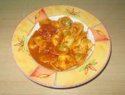 Tortellini Tomaten-Sahne