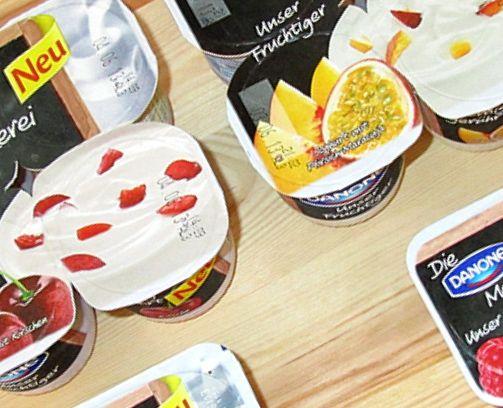 """Danone Joghurt """"Unser Fruchtiger"""" und """"Unser Sahniger"""" – Produkttest"""