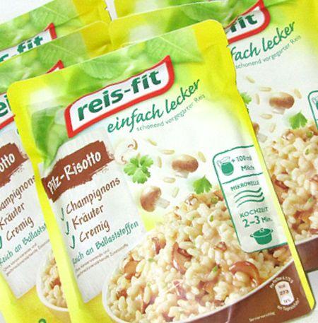 "reis-fit ""einfach lecker"" Pilz-Risotto – Produkttest"