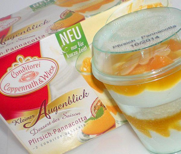 Coppenrath & Wiese Kleiner Augenblick Pfirsich-Pannacotta – Produkttest