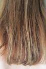 Haare getrocknet