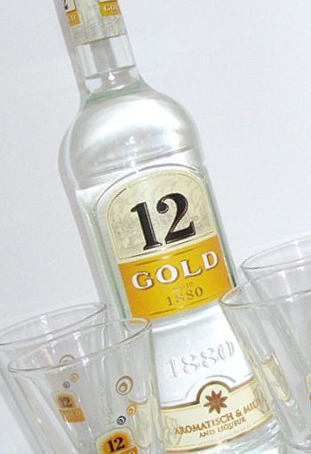 12 GOLD Anislikör Produkttest