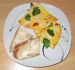 Tomaten Mozzarella Omelett