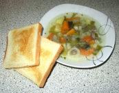 Sandwich als Beilage