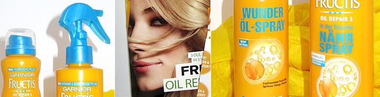 Neue Produkte von Garnier Fructis Oil Repair 3 – Produkttest