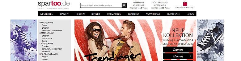 Frühjahrsshoppen im Onlineshop Spartoo.de – Shopvorstellung