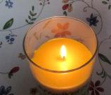 Kerze brennt