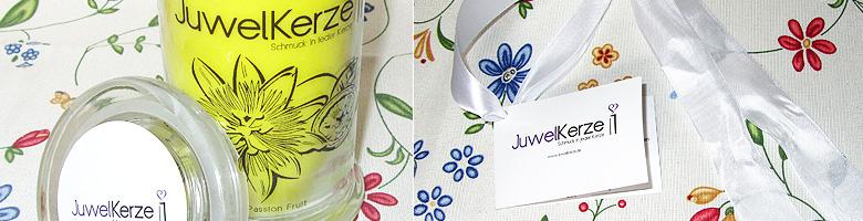 Juwelkerze.de-Duftkerzem mit Silberschmuck / Shopvorstellung