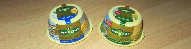 Kerrygold-Buttervariationen / Produkttest