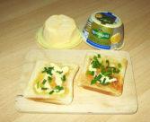 Meersalz-Butter auf Toast