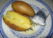 Meersalz-Butter an Kartoffel