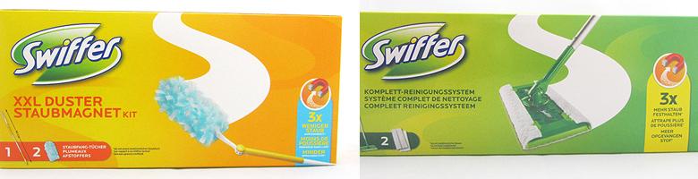 Swiffer Staubmagnet XXL / Swiffer Bodenreinigungssystem