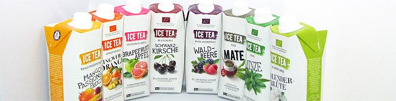 ICE TEA von TeeGschwendner erfrischend durch den Sommer