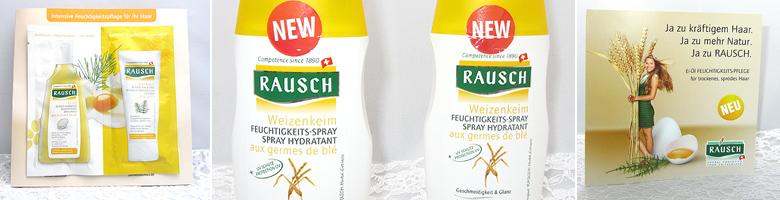 RAUSCH Weizenkeim FEUCHTIGKEITS-SPRAY im Test
