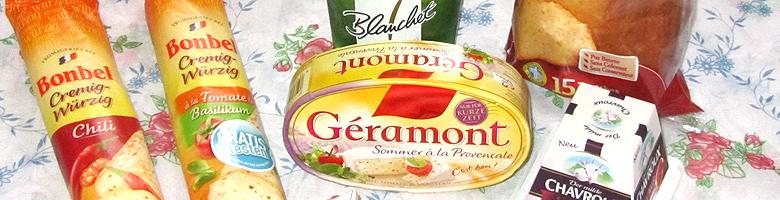 Apéritif à la française mit brandnooz – Käsespezialitäten
