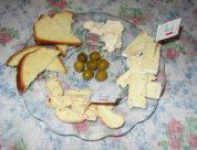 Käse serviert