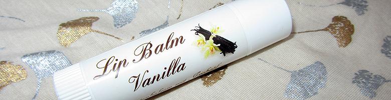 Lip Balm Vanilla – Delicious Soaps Seifenmanufaktur