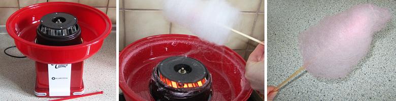 Zuckerwattenmaschine Cotton Candy von Klarstein
