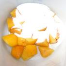 Pfirsiche mit Gelier Zauber