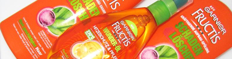 Garnier Fructis Schaden Löscher – Pflegeserie