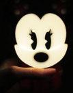 Im Dunklen Nachtlicht Minnie Mouse