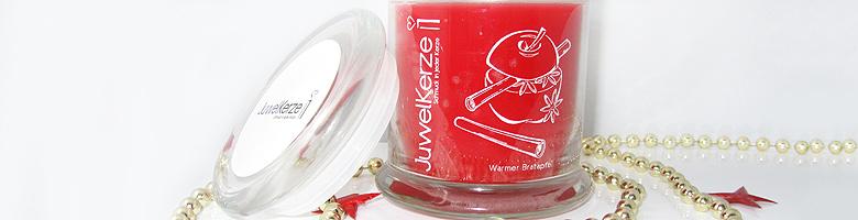 Juwelkerze Duftkerze Warmer Bratapfel – Winterduft