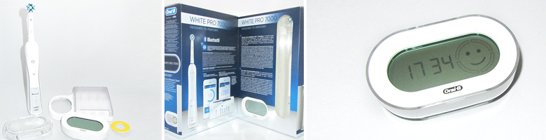 Braun Oral-B PRO 7000 Smart Series Elektrische Premium-Zahnbürste