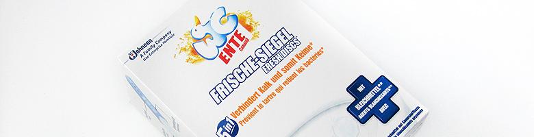 WC-Ente® Frische-Siegel Active Citrus mit Bleichmittel