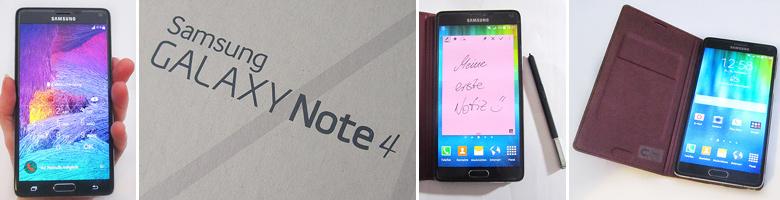 Samsung GALAXY Note 4 im ausführlichen Test