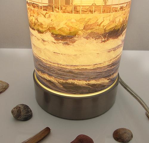 Foto-Lampe nah