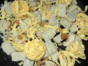 Tagliatelle ai Funghi Porcini gefroren