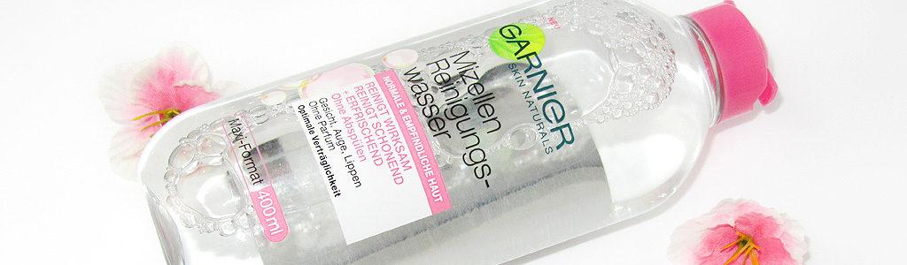 Garnier Mizellen Reinigungswasser für normale und empfindliche Haut