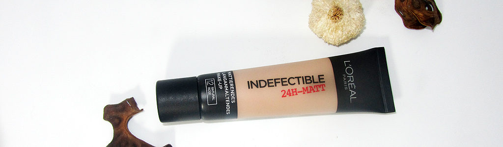 L'Oréal Paris Indefectible Matt Make-up, 12 Natural Rose