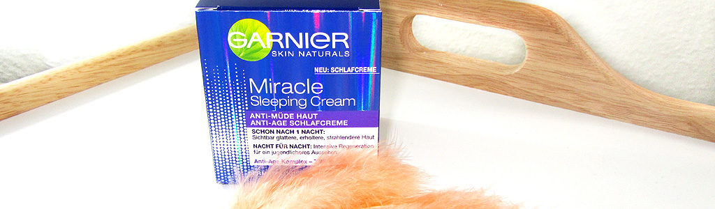 Garnier Miracle Sleeping Cream – Schlafcreme