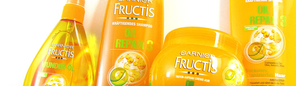 Garnier Fructis Oil Repair 3-Serie im Test