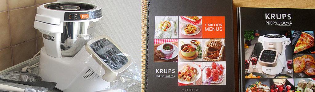 Krups Prep & Cook HP 5031 – multifunktionale Küchenmaschine mit Kochfunktion – Vorstellung