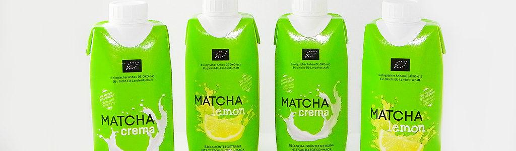 Matcha crema & Matcha lemon von TeeGschwendner