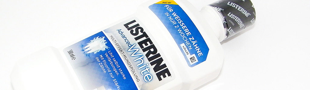 LISTERINE® ADVANCED WHITE – Multi-Effekt-Mundspülung