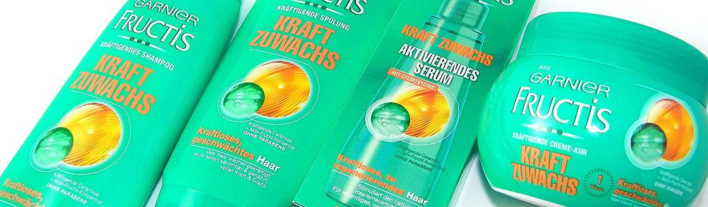 Garnier Fructis Kraft Zuwachs Haarpflegeserie
