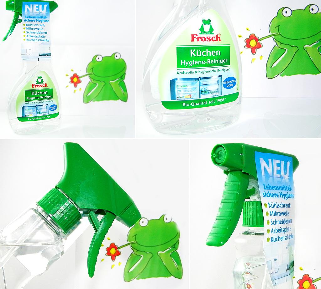 Gerüche Aus Küchenschrank Entfernen: Küchen Hygiene-Reiniger Von Frosch®