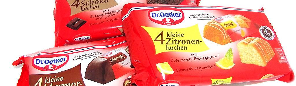 Dr. Oetker – Kleine Rührkuchen