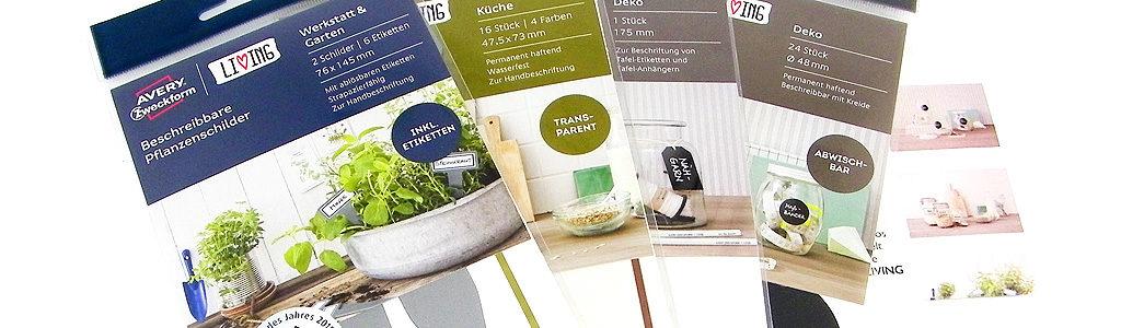 Avery Zweckform – Neue Produkte aus dem LIVING Sortiment