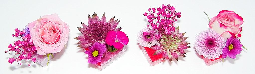 Blumenpralinés von MIFLORA