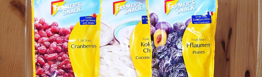 Farmer's Snack – Kokos-Frucht-Variationen