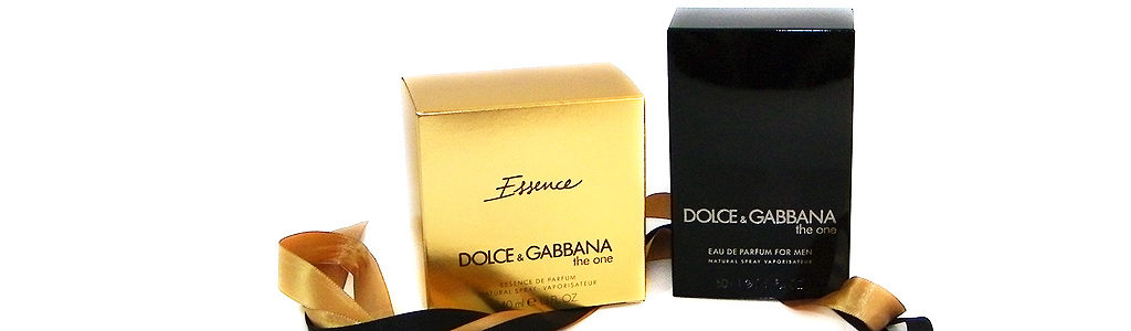 Dolce & Gabbana the one Essence und Dolce & Gabbana the one for men