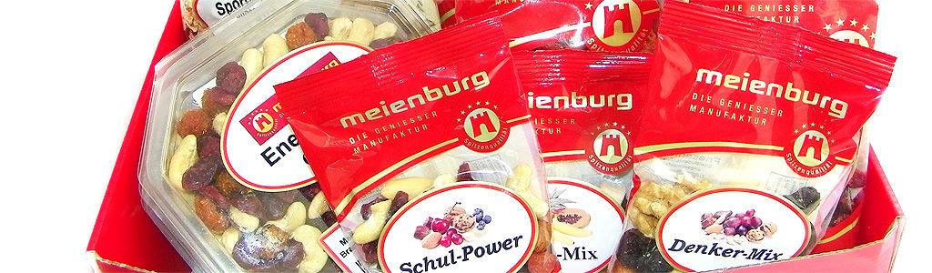 Meienburg – Die Geniesser Manufaktur – Nüsse, Früchte & mehr