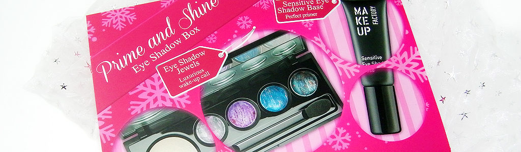 Prime and Shine – Eye Shadow Box von Make up Factory