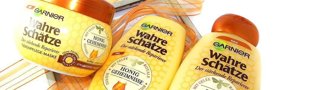 Haarpflegeserie Wahre Schätze – Honig Geheimnisse von GARNIER